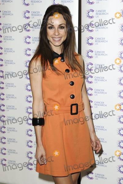 Lindsay Armaou Photo - Lindsay Armaou arriving at James' Jog On To Cancer Event, Kensington Roof Gardens, London. 09/04/2014 Picture by: Alexandra Glen / Featureflash