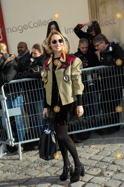 Alexandra Golovanoff Photo - Alexandra Golovanoff at the Dior show during Paris Fashion Week Haute Couture Spring Summer 2016.January 25, 2016  Paris, FrancePicture: Kristina Afanasyeva / Featureflash