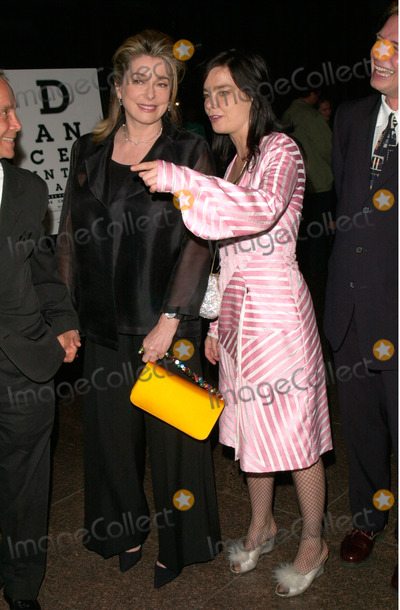 Photos And Pictures French Actress Catherine Deneuve Left Icelandic Actress Pop Star Bjork At The Los Angeles Premiere Of Their Movie Dancer In The Dark