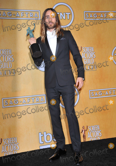Jared Leto Photo - Jared Leto at the 20th Annual Screen Actors Guild Awards at the Shrine Auditorium.January 18, 2014  Los Angeles, CAPicture: Paul Smith / Featureflash