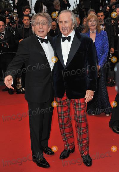 """Jackie Stewart, Roman Polanski Photo - Jackie Stewart & Roman Polanski at gala premiere for """"All Is Lost"""" at the 66th Festival de Cannes.May 22, 2013  Cannes, FrancePicture: Paul Smith / Featureflash"""