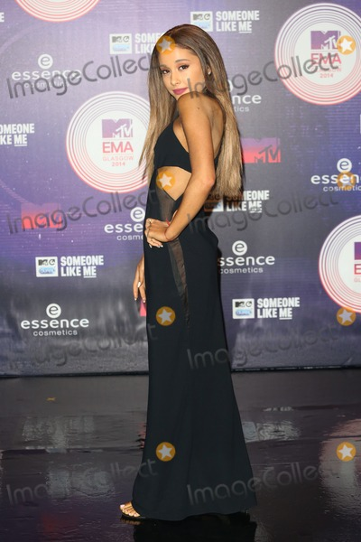 Ariana Grande, James Smith Photo - Ariana Grande arriving at the MTV European Music Awards (EMA's)  2014 held at the The Hydro, Glasgow, Scotland. 09/11/2014 Picture by: James Smith / Featureflash