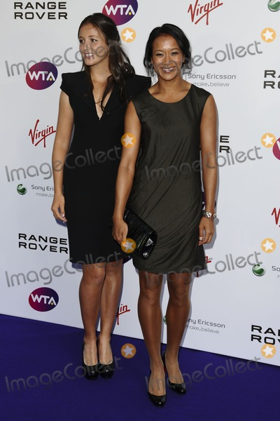 Laura Robson, Anne Keothavong Photo - Laura robson and Anne Keothavong arriving for the Pre Wimbledon Party, Kensington Roof Gardens, London. 16/07/2011  Picture by: Steve Vas / Featureflash