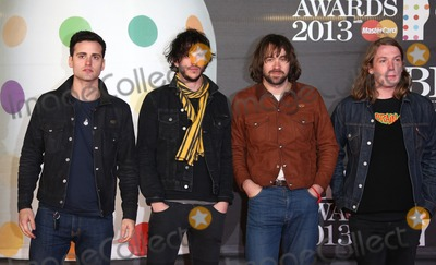The Vaccines Photo - The Vaccines arriving for the Brit Awards 2013 at the O2 Arena, Greenwich, London. 20/02/2013 Picture by: Henry Harris / Featureflash