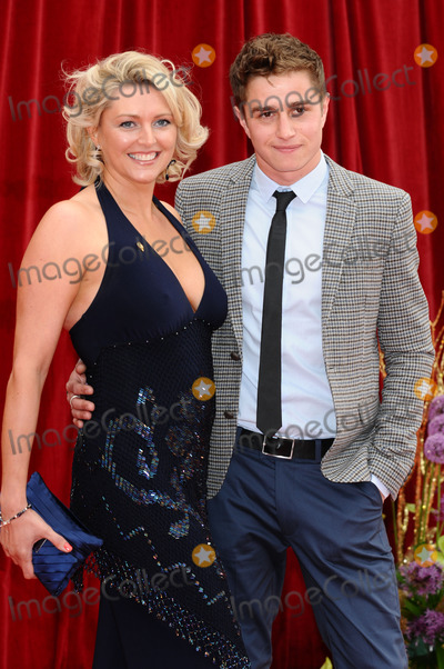 Joanne Farrell Photo - Joanne Farrell and Nicolas Woodman arrive at the British Soap awards 2011 held at the Granada Studios, Manchester.