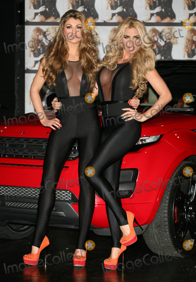 Katie Price, Amy Willerton Photo - 'Signed By Katie Price' winner Amy Willerton and Katie Price pose at the press launch, The Worx, London. 19/01/2012  Picture by: Alexandra Glen / Featureflash