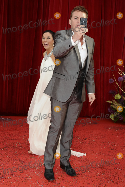 Jesse Wallace, Shane Ritchie Photo - Jesse Wallace and Shane Ritchie arrives at the British Soap awards 2011 held at the Granada Studios, Manchester.