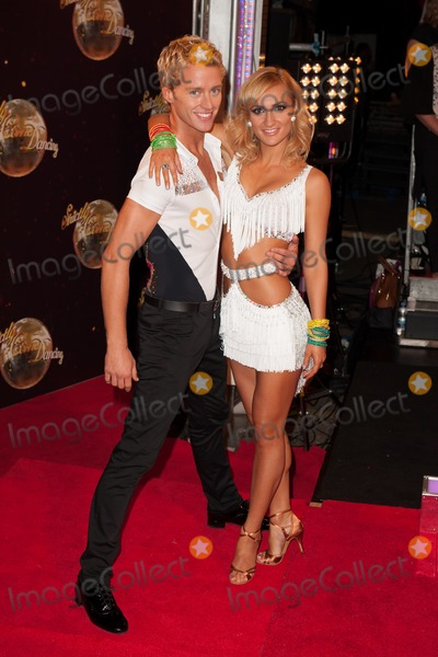 Aliona Vilani Photo - Aliona Vilani and Trent Whiddon attending the red carpet launch for Strictly Come Dancing 2014 at Elstree Studios, London. 02/09/2014 Picture by: Alexandra Glen / Featureflash
