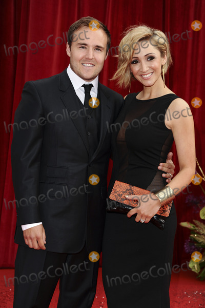 Lucy Jo Hudson, Alan Halsall Photo - Alan Halsall and Lucy Jo Hudson  arrive at the British Soap awards 2011 held at the Granada Studios, Manchester.