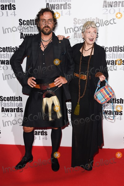 Andreas Kronthaler, Dame Vivienne Westwood, Vivienne Westwood Photo - Andreas Kronthaler and Dame Vivienne Westwood at the Scottish Fashion awards 2014 at No.8 Northumberland Avenue, London. 01/09/2014 Picture by: Steve Vas / Featureflash