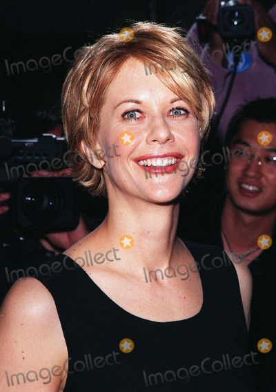 "Meg Ryan, Nicolas Cage Photo - 08APR98:  Actress MEG RYAN at the world premiere of her new movie, ""City of Angels,"" in which she stars with Nicolas Cage."