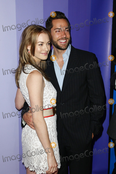 Yvonne Strahovski, Zach Levi, THE HILTONS Photo - NEW YORK - MAY 16 :  Yvonne Strahovski & Zach Levi pictured at The NBC Primetime Preview at The Hilton on May 16, 2011 in New York City.  (Photo by StarMedia/ImageCollect.com)