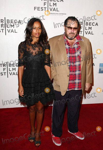 "Julian Schnabel, Rula Jebreal Photo - NEW YORK - APRIL 30 :  Writer Rula Jebreal & Director Julian Schnabel pictured at the ""Newlyweds"" Premiere at the Tribeca Film Festival Closing Night Gala at BMCC/TPAC on April 30, 2011 in New York City.  (Photo by StarMedia/ImageCollect.com)"