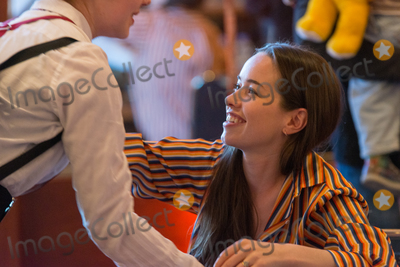 Anna Popplewell Photo - BONN, GERMANY - MARCH 24: Actress Anna Popplewell (Narnia, Reign) hugging a fan at MagicCon, a three-day (March 23-25 2018) fantasy & mystery fan convention.