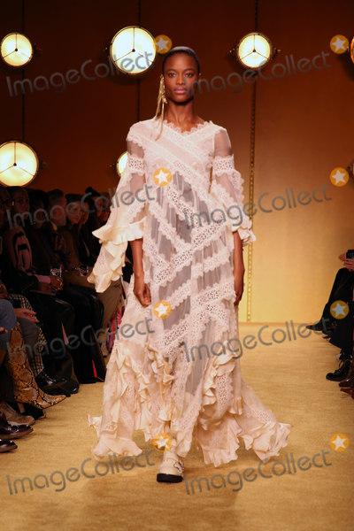 Photo - February 10, 2020, New York, New York, USA: Zimmerman F/W 2020 Fashion Show,.SIR Stage 37, NYC.February 10, 2020.Photos by  ,   Photos Inc. (Credit Image:  Sonia Moskowitz/Globe Photos via ZUMA Wire)