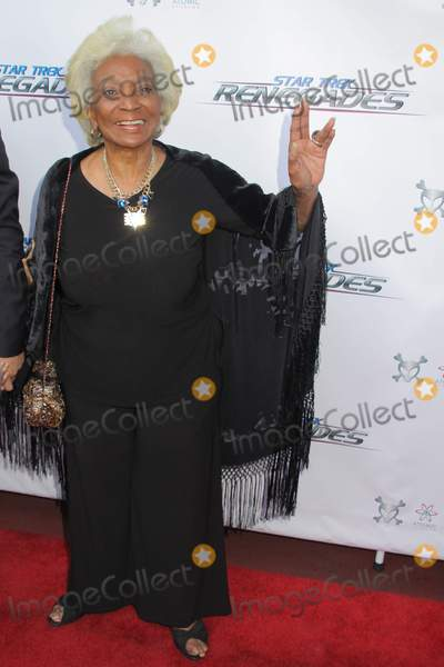 Nichelle Nichols, G STAR Photo - Nichelle Nichols 08/01/2015 The Premiere of gStar Trek: Renegadesh held at Crest Theater in Los Angeles, CA Photo by Izumi Hasegawa / HollywoodNewsWire.net