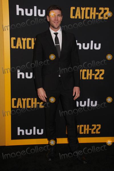 "Austin Stowell, TCL Chinese Theatre Photo - Austin Stowell 05/07/2019 The U.S. Premiere of Hulu's ""CATCH-22"" held at The TCL Chinese Theatre in Los Angeles, CA Photo by Izumi Hasegawa / HollywoodNewsWire.co"