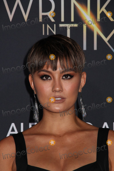 """Agnez Mo Photo - Agnez Mo 02/26/2018 The World Premiere of """"A Wrinkle in Time"""" held at El Capitan Theatre in Los Angeles, CA Photo by Izumi Hasegawa / HollywoodNewsWire.co"""