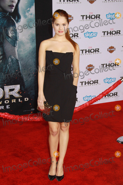 "Debby Ryan, The Darkness, Debby Ryan Photo - Debby Ryan 11/04/2013 ""Thor: The Dark World"" Premiere held at the El Capitan Theatre in Hollywood, CA Photo by Kazuki Hirata / HollywoodNewsWire.net"