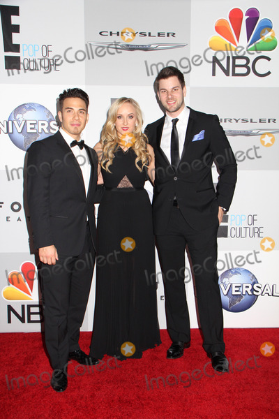 Apolo Anton Ohno, NASTIA LUIKIN, TIM MOREHOUSE Photo - Apolo Anton Ohno, Nastia Luikin, Tim Morehouse 
