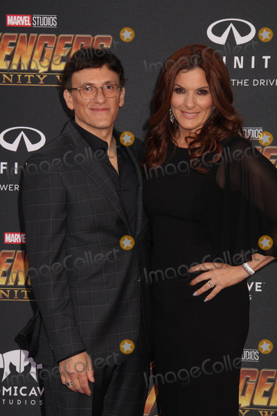 """Ann Russo, Anne Russo, Anthony Russo Photo - Anthony Russo, Anne Russo 04/23/2018 The World Premiere of """"Avengers: Infinity War"""" held at Hollywood, CA Photo by Izumi Hasegawa / HollywoodNewsWire.co"""