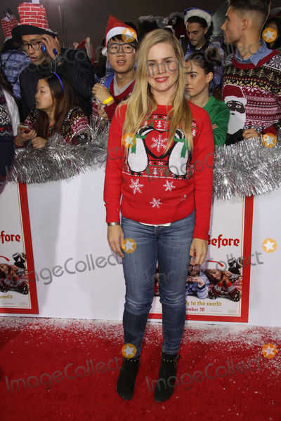 """Alison Lohman Photo - Alison Lohman 11/18/2015 The Festive World Premiere of """"The Night Before"""" held at The Theatre at The ACE Hotel in Los Angeles, CA Photo by Izumi Hasegawa / HollywoodNewsWire.net"""