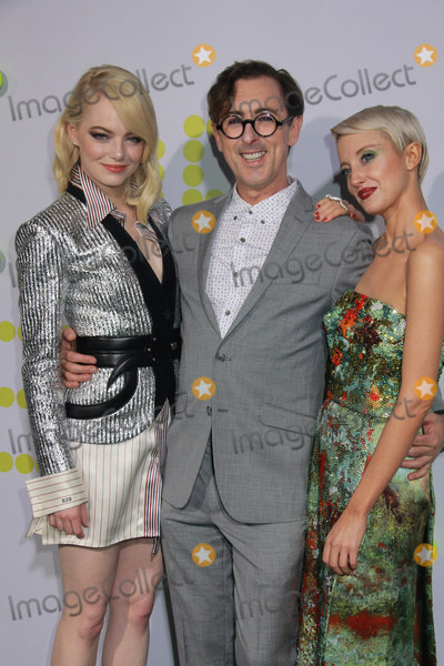 """Alan Cumming, Andrea Riseborough, Emma Stone, Alan Cummings Photo - Emma Stone, Alan Cumming, Andrea Riseborough 09/16/2017 The Los Angeles Premiere of """"Battle of the Sexes"""" held at Regency Village Theatre in Los Angeles, CA Photo by Izumi Hasegawa / HollywoodNewsWire.co"""