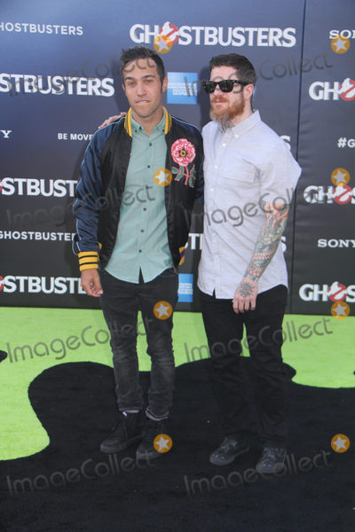 Andy Hurley, Fall Out Boy, Pete Wentz, TCL Chinese Theatre Photo - Fall Out Boy, Pete Wentz, Andy Hurley 