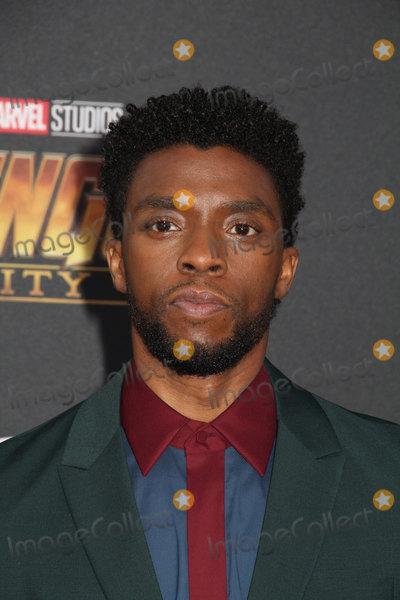 """Chadwick Boseman Photo - Chadwick Boseman 04/23/2018 The World Premiere of """"Avengers: Infinity War"""" held at Hollywood, CA Photo by Izumi Hasegawa / HollywoodNewsWire.co"""