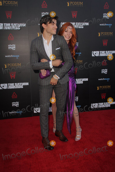 Chloe Dykstra, Cameron Cuffe, Saturn Awards Photo - Cameron Cuffe, Chloe Dykstra 09/13/2019 The 45th Annual Saturn Awards held at the Avalon Hollywood in Los Angeles, CAPhoto by Yurina Abe / HollywoodNewsWire.co