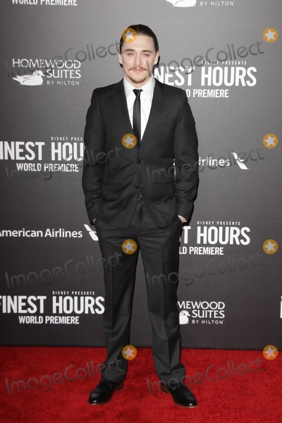 """Kyle Gallner, TCL Chinese Theatre Photo - Kyle Gallner 01/25/2016 The Premiere of """"The Finest Hours"""" held at TCL Chinese Theatre inHollywood, CA Photo by Izumi Hasegawa / HollywoodNewsWire.net"""