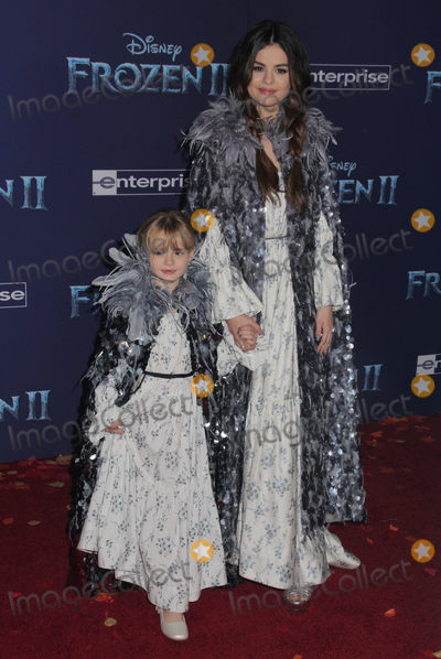 """Gomez, Selena Gomez Photo - Selena Gomez, Grace Teefey 11/07/2019 The World Premiere of """"Frozen 2"""" held at the Dolby Theatre in Los Angeles, CA Photo by Izumi Hasegawa / HollywoodNewsWire.co"""