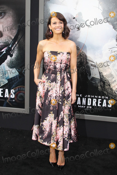 """Carla Gugino, TCL Chinese Theatre Photo - Carla Gugino 05/26/2015 """"San Andreas"""" Premiere held at the TCL Chinese Theatre in Hollywood, CA Photo by Kazuki Hirata / HollywoodNewsWire.net"""