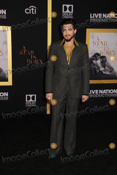"""Adam Lambert Photo - Adam Lambert 09/24/2018 The Los Angeles Premiere of """"A Star is Born"""" held at The Shrine Auditorium & Expo Hall in Los Angeles, CA Photo by Izumi Hasegawa / HollywoodNewsWire.co"""