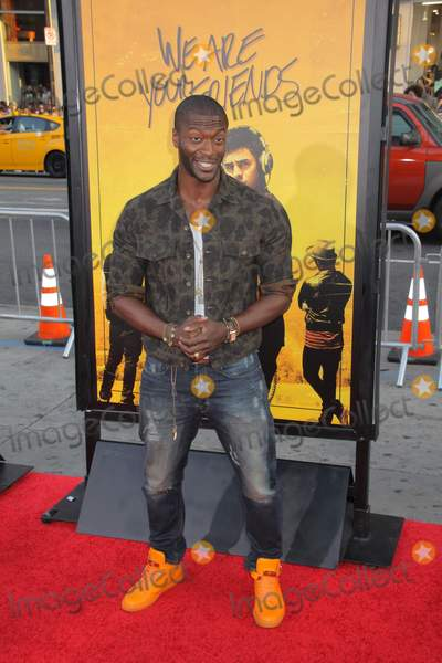 """Aldis Hodge, Aldis Hodges, TCL Chinese Theatre Photo - Aldis Hodge 08/20/2015 The Los Angeles Premiere of """"We are Your Friends"""" held at TCL Chinese Theatre in Hollywood, CA Photo by Izumi Hasegawa / HollywoodNewsWire.net"""