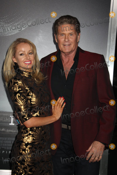 """David Hasselhoff, Hayley Roberts Photo - Hayley Roberts, David Hasselhoff 12/10/2018 The World Premiere of """"The Mule"""" held at the Regency Village Theatre in Los Angeles, CA Photo by Izumi Hasegawa / HollywoodNewsWire.co"""