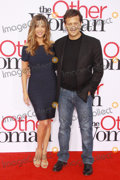 """Aaron Zigman, The Others, Ashley Cusato Photo - Ashley Cusato, Aaron Zigman 04/21/2014 """"The Other Woman"""" Premiere held at the Regency Village Theatre in Westwood, CA Photo by Kazuki Hirata / HollywoodNewsWire.net"""