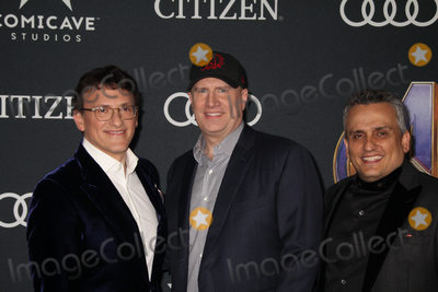 Anthony Russo, Joe Russo, Kevin Feige Photo - Anthony Russo, Kevin Feige, Joe Russo 