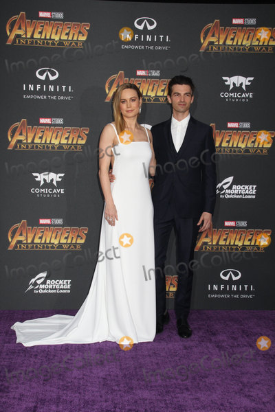 """Alex Greenwald, Brie Larson Photo - Brie Larson, Alex Greenwald 04/23/2018 The World Premiere of """"Avengers: Infinity War"""" held at Hollywood, CA Photo by Izumi Hasegawa / HollywoodNewsWire.co"""