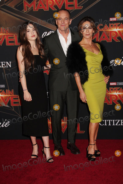 Clark Gregg, Jennifer Grey, Clarke Gregg Photo - Stella Gregg, Clark Gregg, Jennifer Grey 