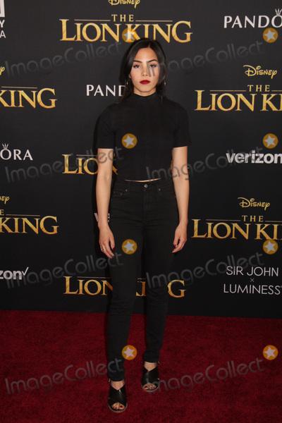 Anna Akana Photo - Anna Akana 07/09/2019 The Lion King Premiere held at Dolby Theatre in Hollywood, CA Photo by Kazuki Hirata / HollywoodNewsWire.co