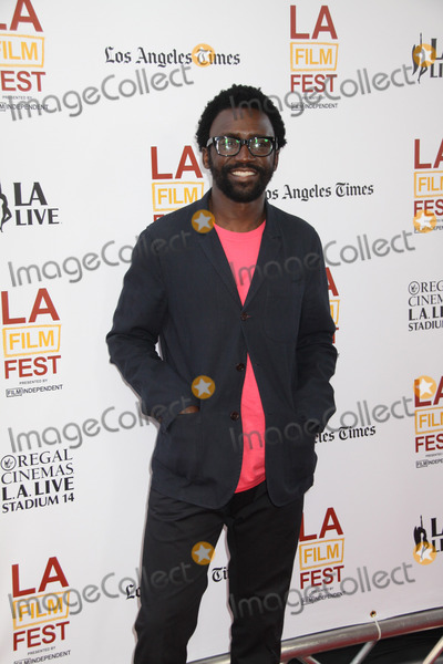 """ANTHONY OKUNGBOWA Photo - Anthony Okungbowa 06/11/2014 20th Anniversary Los Angeles Film Festival Opening Night The North American Premiere of """"Snowpiercer"""" held at The Regal Cinemas L.A. Live Stadium 14 in Los Angeles, CA Photo by Izumi Hasegawa / HollywoodNewsWire.net"""