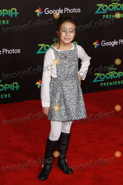 Aubrey Anderson-Emmons, Zootopia Premiere, Aubrey Anderson Photo - Aubrey Anderson-Emmons 