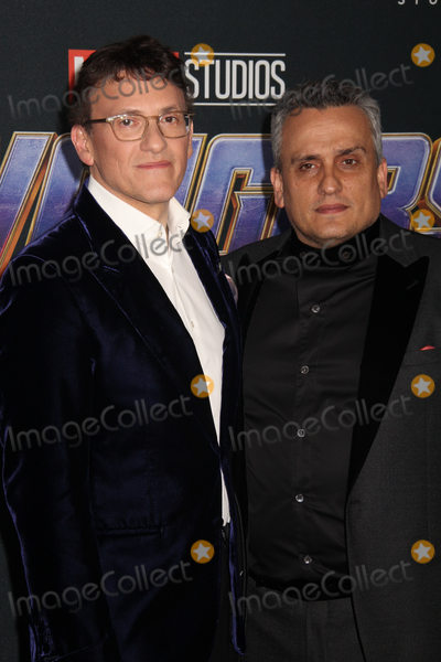 """Anthony Russo, Joe Russo Photo - Anthony Russo, Joe Russo 04/22/2019 The world premiere of Marvel StudiosAvengers: Endgame"""" held at The Los Angeles Convention Center in Los Angeles, CA Photo by Izumi Hasegawa / HollywoodNewsWire.co"""