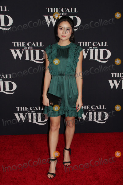 """The Calling, Ashley Liao Photo - Ashley Liao 02/13/2020 The World Premiere of """"The Call of the Wild"""" held at The El Capitan Theatre in Los Angeles, CA Photo by Izumi Hasegawa / HollywoodNewsWire.co"""
