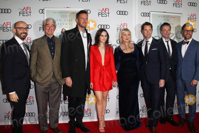 Armie Hammer, Felicity Jones, Mimi Leder, Sam Waterston, TCL Chinese Theatre Photo - Sam Waterston, Armie Hammer, Felicity Jones, Mimi Leder 