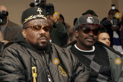 Afrika Bambaataa Photo - Afrika Bambaataa and Five 5 Freddy attend the Smithsonian's Museum of American History's press conference launching their first ever hip-hop national collecting initiative on February 28, 2006 in New York City.
