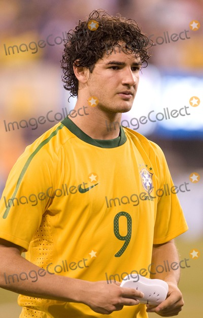 Alexandre Pato, The Used Photo - Brazil forward Alexandre Pato pictured after the US vs. Brazil game at the New Meadowlands Stadium on August 10, 2010 in East Rutherford, New Jersey.