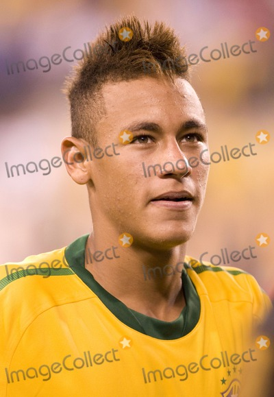 The Used Photo - Brazil forward Neymar pictured after the US vs. Brazil game at the New Meadowlands Stadium on August 10, 2010 in East Rutherford, New Jersey.