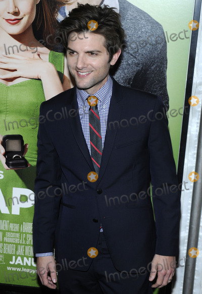 Adam Scott Photo - Actor Adam Scott attends the premiere of 'Leap Year' at the Director's Guild Theatre in New York, NY on January 6, 2010 . (Pictured: Adam Scott)